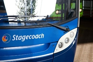 Stagecoach bus front