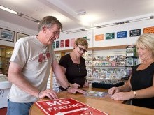 You'll always receive a warm welcome at Lakealnd Motor Museum reception and gift shop