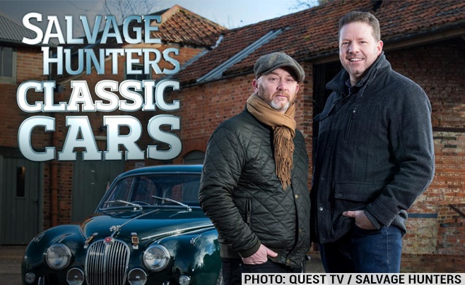 Salvage Hunters Classic Cars TV Show starts this spring