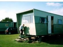 1961 Bluebird Senator Static Caravan 6 Berth with 2 fold down beds