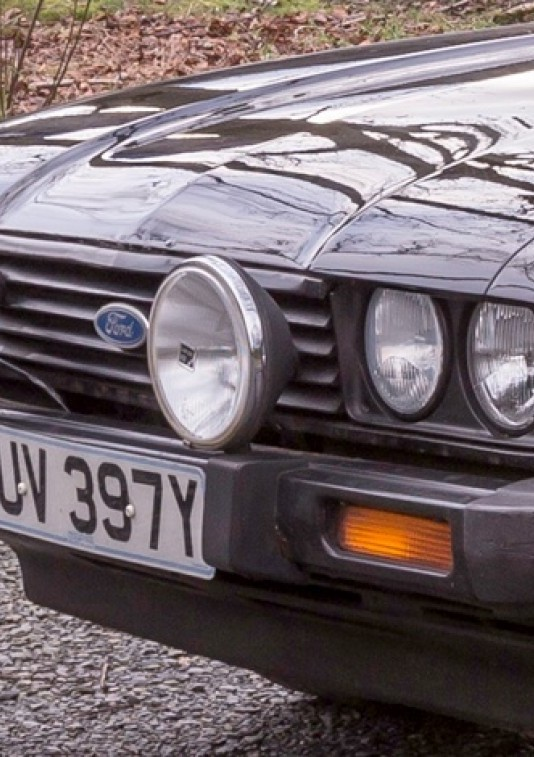 1982 Ford Mk 3 Capri 2.8i 1 owner from new