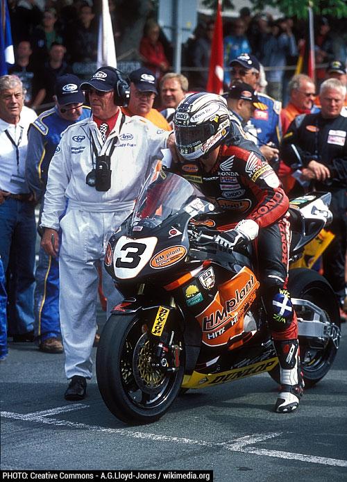 John McGuiness 2007 Honda CBR1000 Fireblade