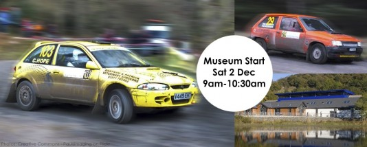 Ceremonial Start of Grizedale Stages Rally