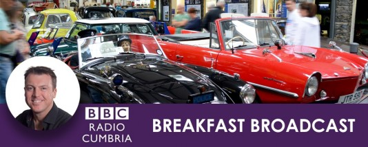 Mike Zeller and the BBC Radio Cumbria team were at the museum