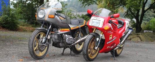 1985 Ducati 900 2S and 1991 Ducati 851 SP3