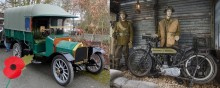 Lakeland Motor Museum marks 100th anniversary of WW1's end