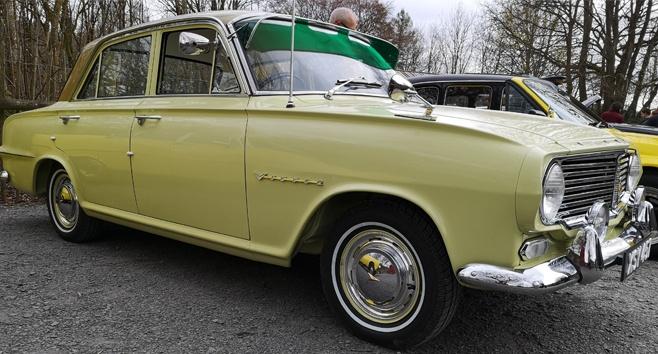The winning 1962 Vauxhall Victor