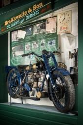 1912 Braithwaite Over head valve Motorcycle
