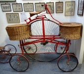 Replica 1885 Post Office Delivery Pentacycle